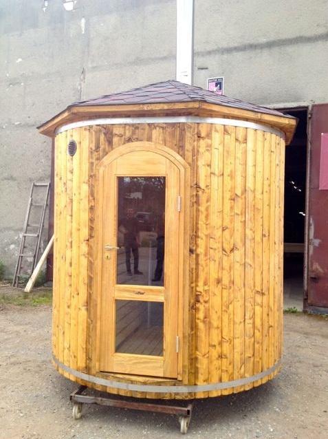 14 best saunas images on pinterest barrel sauna outdoor for Do it yourself outdoor sauna