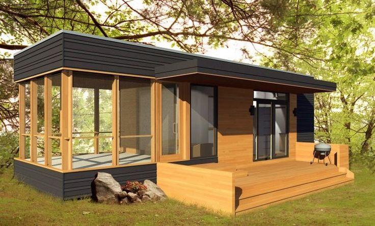 288 Sq. Ft. Solo 24 Bunkie Modern Prefab Tiny Home
