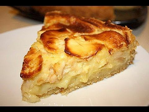 Рецепт Яблочного пирога на сметане Серебряный век