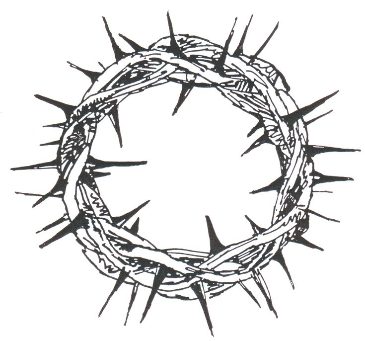 8 best Thorns and Symbols images on Pinterest  Crown of thorns