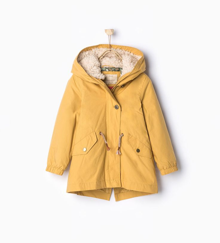 Removable camouflage interior parka-Girl-NEW IN | ZARA United States