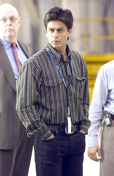 SRK on the sets of Swades