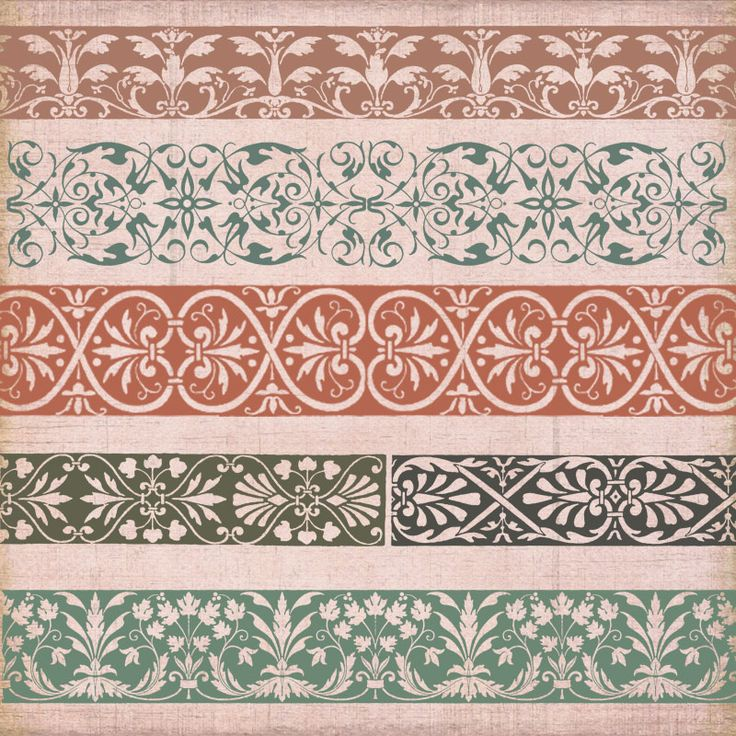 Vintage Borders & Ornaments