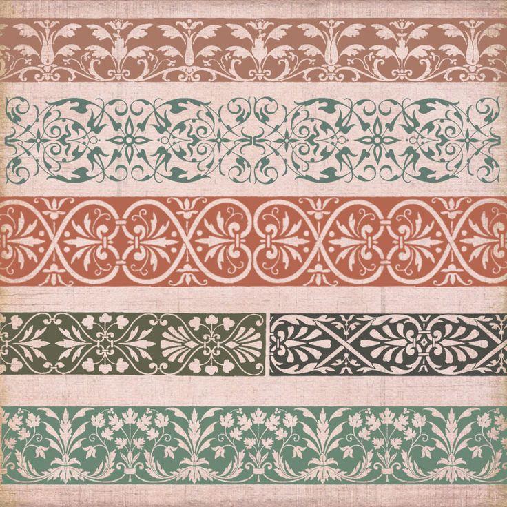 Vintage Borders & Ornaments