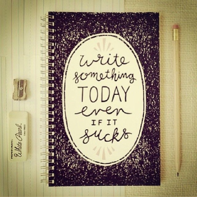 """A Better Approach to """"Write Every Day"""""""