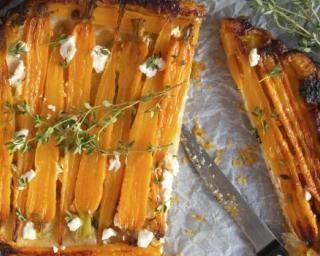 Tarte tatin minceur aux carottes aux miettes de feta : http://www.fourchette-et-bikini.fr/recettes/recettes-minceur/tarte-tatin-minceur-aux-carottes-aux-miettes-de-feta.html