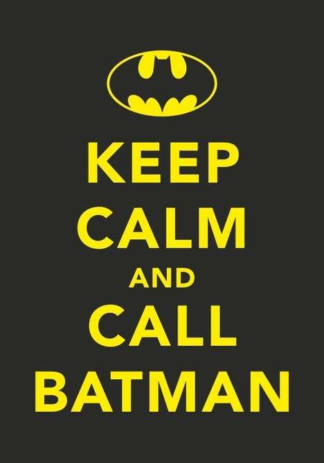 But do I call the Michael Keaton, the Val Kilmer, the George Clooney, or the Christian Bale Batman?? Oh the choices!