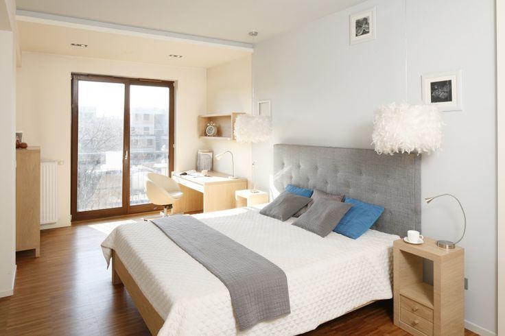 Sypialnia - piękne aranżacje z gotowych projektów  - zdjęcie numer 1