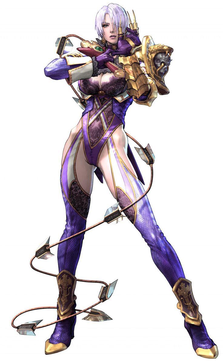 Ivy Valentine from Soul Calibur V