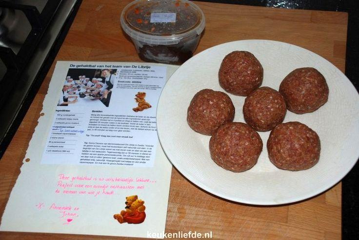 Dit zijn de lekkerste gehaktballen die wij tot nu toe ooit gegeten hebben! Het recept is van driesterrenrestaurant De Librije in Zwolle.