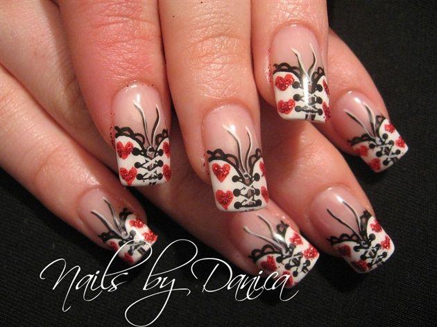 26 besten nail art bilder auf pinterest nailart einfache blume milas valentine nails by danicadanica nail art gallery nailartgalleryilsmag by nails prinsesfo Images
