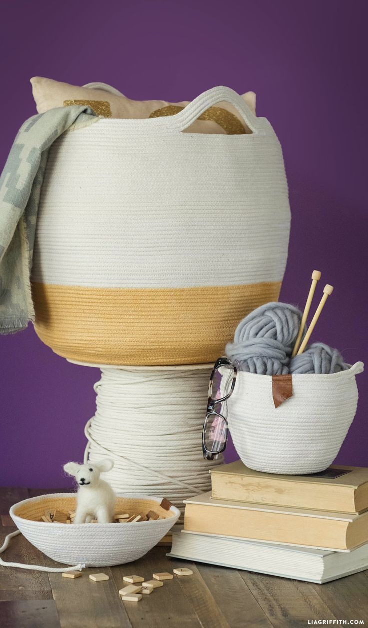 DIY Clothesline Baskets | www.homeology.co.za