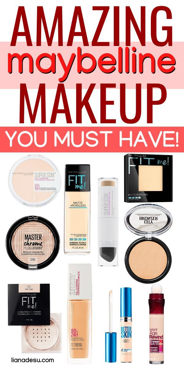 The Best Maybelline Makeup Products You Need To Try Hair Love Nbsp Style Nbsp Beautiful Nbsp Drugstore Makeup Brands Maybelline Makeup Drugstore Makeup