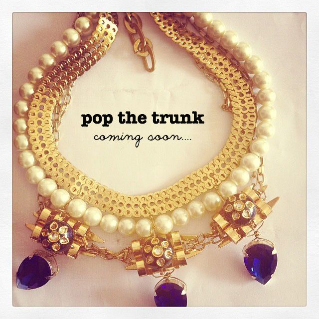 New label # popthetrunk