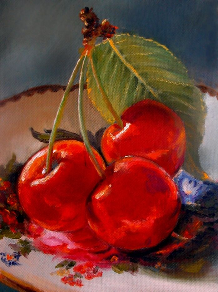 CHERRY DELIGHT, by DIANE MORGAN