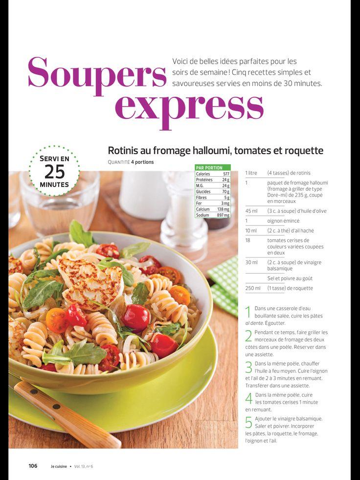 «Soupers express» de JE Cuisine, Septembre 2017. Lisez-le sur l'appli Texture, qui vous donne accès à plus de 200 magazines de grande qualité.
