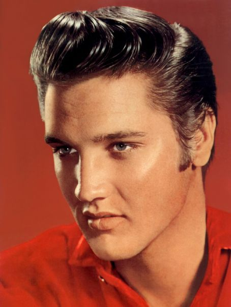 Elvis Presley - pretty gorgeous!This is in my office framed & in view of my desk daily. A precious gift from a friend.