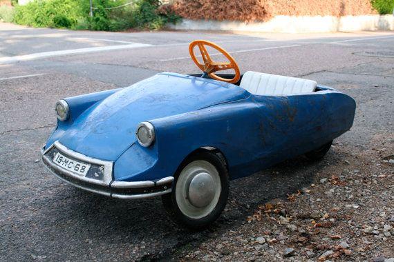 French Vintage Citroen DS Pedal Car - 1968, France