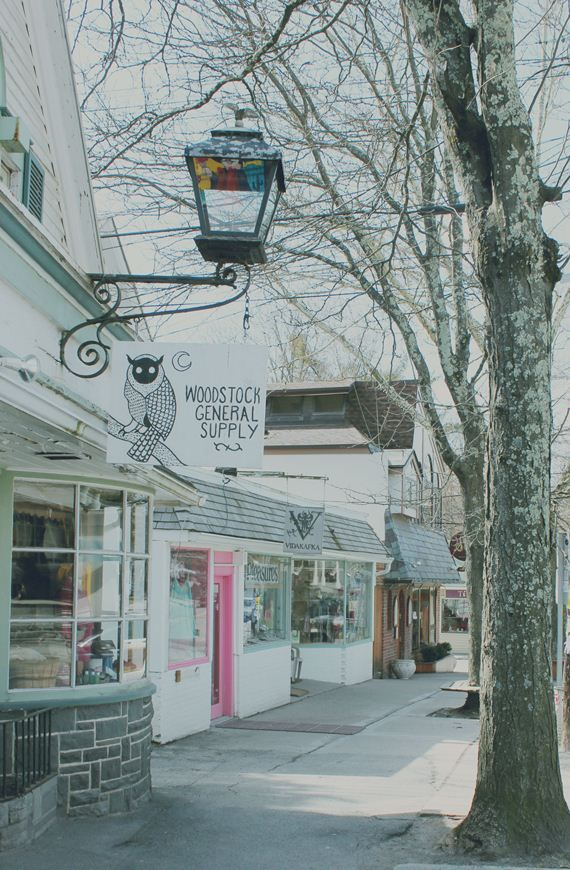 it would be kinda awesome to visit woodstock NY. photos from free people
