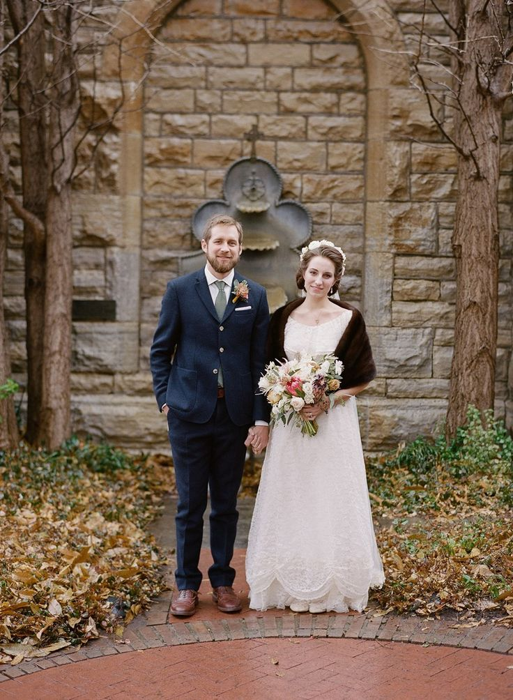 Vintage Inspired Bride & Groom // Photography ~ Whitney Neal