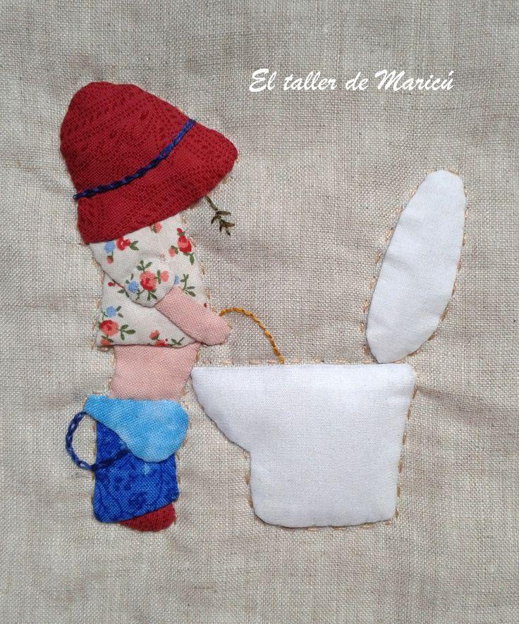 El taller de Maricú: Sue en el baño.