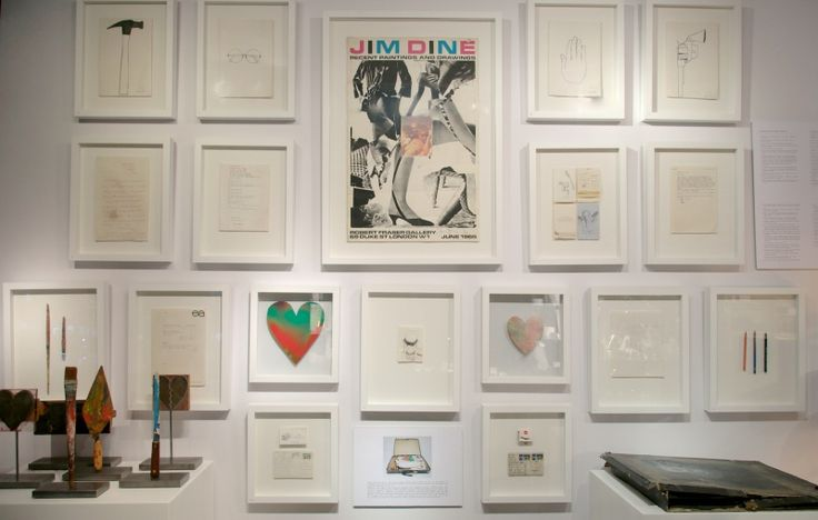 Jim Dine art from Chester square the complete 54 items from 60 Chester Square