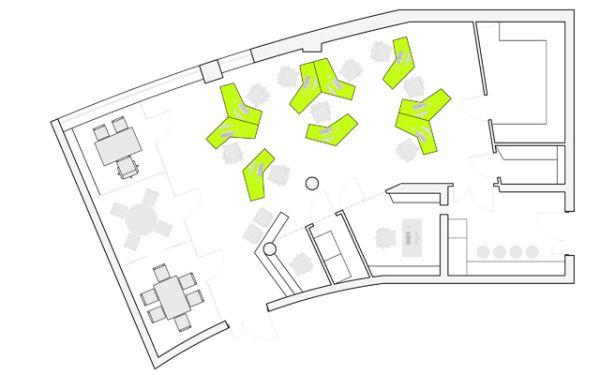 планировочная структура офисного пространства