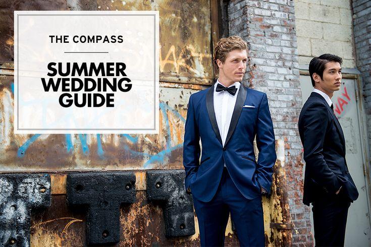What to Wear to a Summer Wedding | The Compass  #blacklapel #shopjoielle #weddingchicks