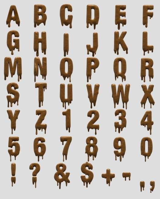 Handmade Font Creates Object-Inspired Fonts #Pop Culture trendhunter.com