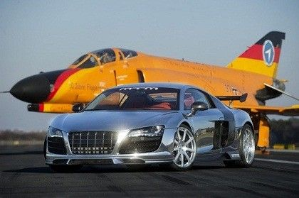 Audi R8 & F4 Phantom  Two pearls from Ingolstadt /Bavaria  (The Phantom is stationed on german airforce testcenter in Manching near Ingolstadt)