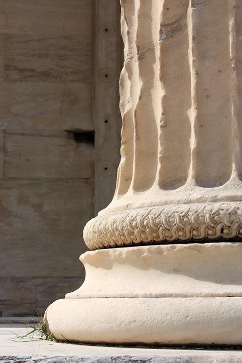 Columna jónica  Grecia