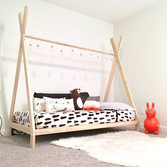 Teepee Bed Frame Twin Size Made In Us Twinmattresssalenearme Twin Bed Frame Bed Linens Luxury Twin Size Bed Frame