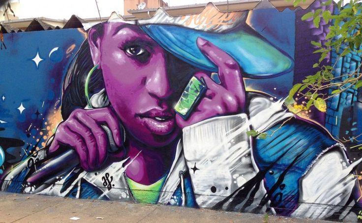 Conheça a arte de Valdi Valdi - Grafiteiro de Floriánopolis