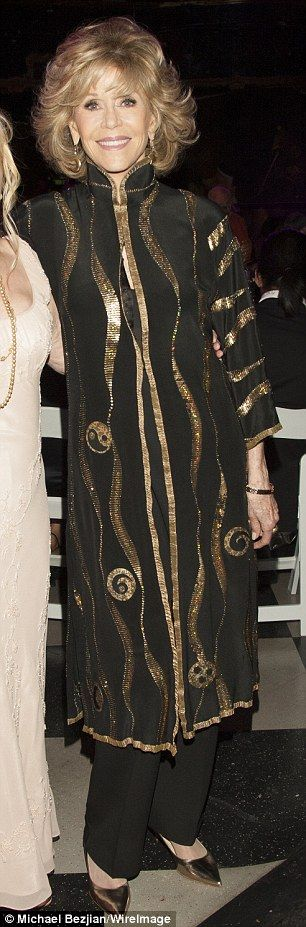 Jane Fonda and Morgan Fairchild show off their ageless appeal in LA #dailymail