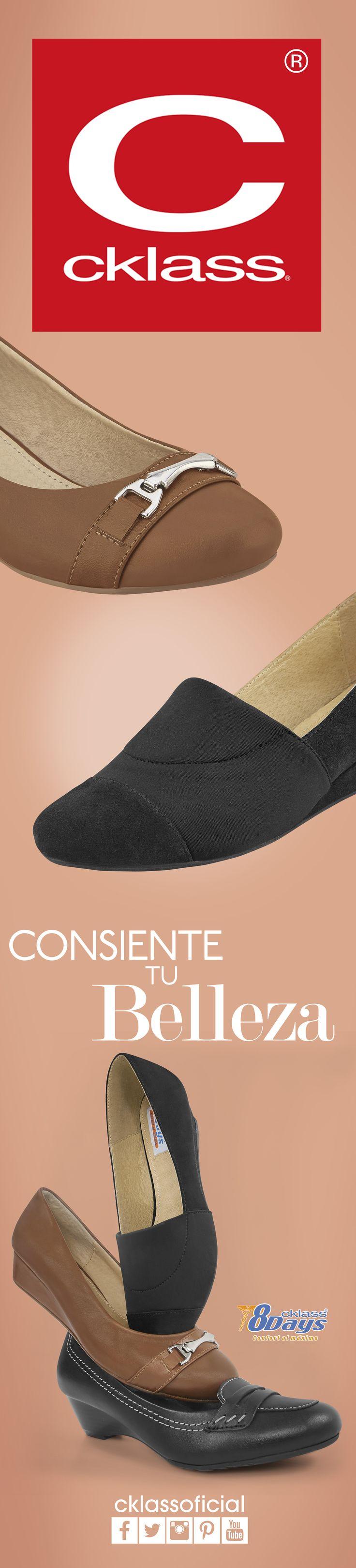 Comfort es una línea de calzado #Cklass pensada para especialmente para las mujeres activas que buscan estar cómodas sin sacrificar el estilo.