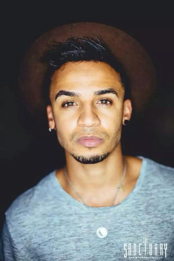 Aston Merrygold At The Sanctuary (August 2015)