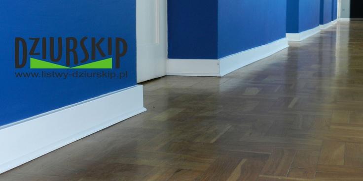 listwa podłogowa lakierowana na biało  our Skirting board Made in Poland!