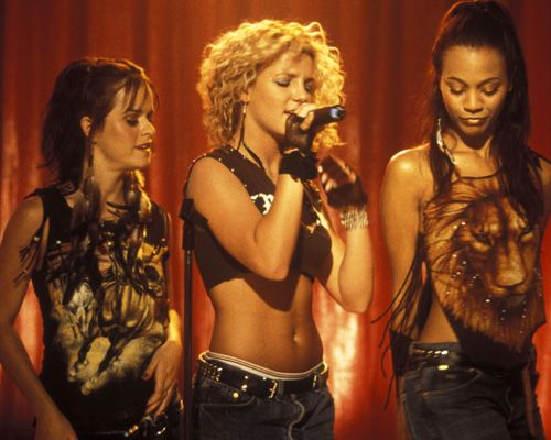 Taryn Manning, Britney Spears and Zoe Saldana in Crossroads (2002)