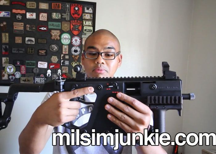 MilSim Junkie Tests The KWA KRISS Vector