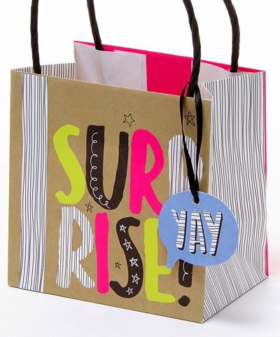 132 best gift bags images on pinterest gift bags bags and gift surprise gift bag by hallmark negle Choice Image