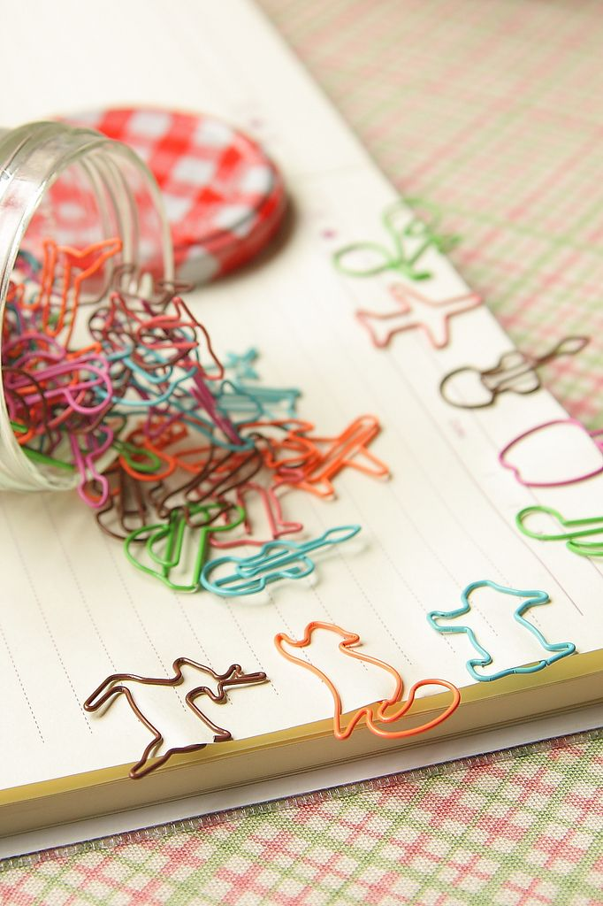 Perfect cute paper clips for kids. Back to school shopping will commence soon and these would be the perfect addition to your stationery shop. #stationery