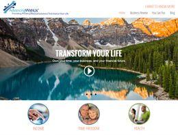 Lead generating website for AdvancingWithUs.com Alan Pariser Corporate Director at Melaleuca Inc. Network Marketing