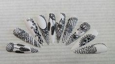 Stylograph nailart
