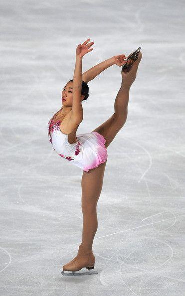 Mirai Nagasu- White Figure Skating dress inspiration for Sk8 Gr8 Designs