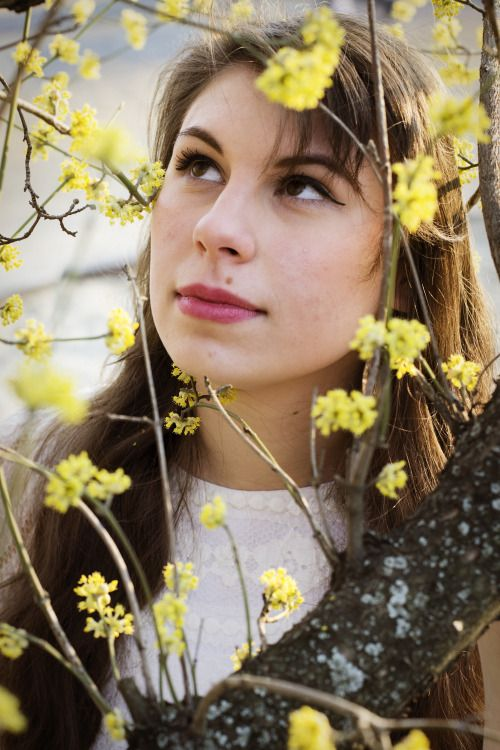 spring, flowers, portrait photography, from www.vibexblog.tumblr.com