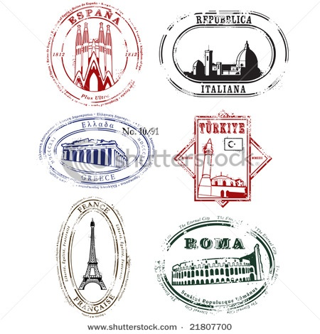 Maybe take the French stamp, attach it to a pin and use it as a SWAP?
