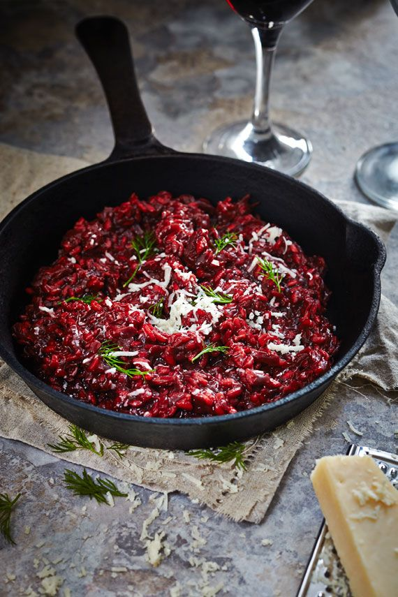 Beetroot Risotto