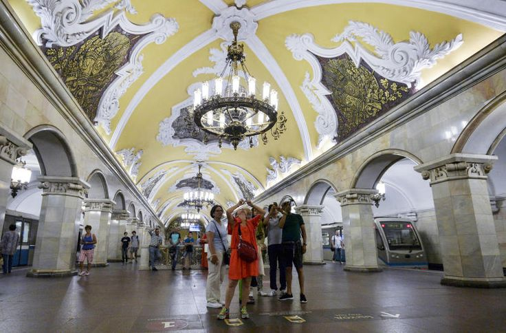 Instaprint machine installed in Moscow metro