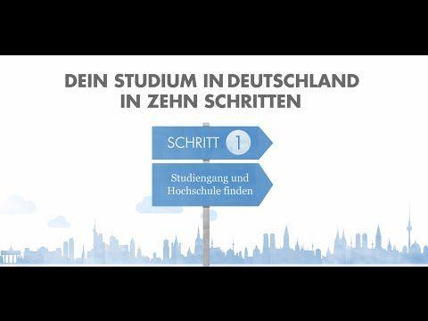 Studium in Deutschland mit Video, Material und Aufgabenstellungen
