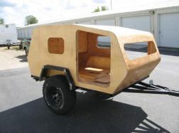 Home built Compact Camping Trailers - Compact Camping Concepts, LLC.  Off road design